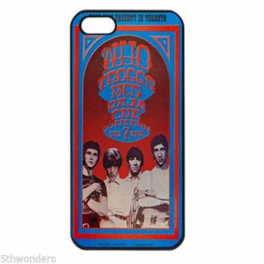 THE WHO TROGGS MC5 IN CONCERT Apple Iphone Case 4/4s 5/5s 5c 6 or 6 Plus PICK