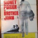 BROTHER JOHN Sidney Poitier Will Geer Bradford Dillman Original Movie Poster