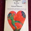 A JOURNAL OF LOVE Edward Mannix Vintage 1966 ADULT Pocket Paperback