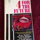 4 FOUR FOR THE FUTURE Groff Conklin Vintage 1962 Pyramid Paperback SCI-FI