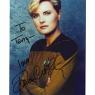 DENISE CROSBY STAR TREK  Lt. Tasha Yar Hand Signed In Person Autographed 8x10