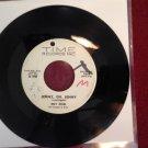ROY ETZEL Jenny, Oh, Jenny / Apachen Blues 45 rpm Time VG+ HEAR IT!