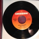 ANDY WILLIAMS Solitaire / My Love 45 rpm NM Columbia