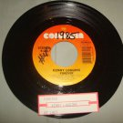 KENNY LOGGINS FOREVER / AT LAST 45 rpm Record Columbia