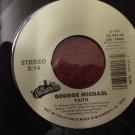 GEORGE MICHAEL Faith / Hand To Mouth NEAR MINT 45 rpm