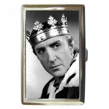 BASIL RATHBONE TOWER OF LONDON Cigarette Money Case ID Holder or Wallet! WOW!