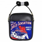 THE NEW JAZZ SENSATION DEVIL FLAMING PASSION Leather Sling Bag Small Purse