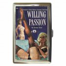 WILLING PASSION WILD LESBIAN WOMEN Cigarette Money Case ID Holder or Wallet! WOW