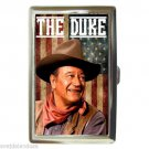 JOHN WAYNE THE DUKE IS AMERICA Cigarette Money Case ID Holder or Wallet! WOW!