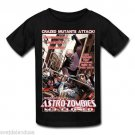 TED V. MIKELS ASTRO ZOMBIES M3 CLONED T-Shirt BLACK GILDAN Officially Licensed