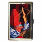 JOHN BUCKLAND WRIGHT NUDE VINTAGE Cigarette Money Case ID Holder or Wallet! WOW!