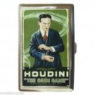 HARRY HOUDINI The Grim Game Cigarette Money Case ID Holder or Wallet! WOW