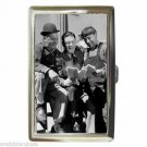 THREE STOOGES MOE CURLY AND SHEMP RARE Cigarette Money Case ID Holder or Wallet!