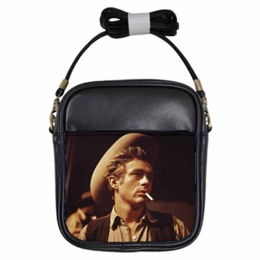 JAMES DEAN GIANT 2 Leather Sling Bag Small Purse