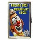 RINGLING BROS BARNUM & BAILEY CIRCUS CLOWN Cigarette Money Case ID Holder Wallet