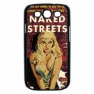 NAKED STREETS RED HOT SEXY ART Samsung Galaxy S III Case (Black)