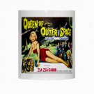 Queen Of Outer Space Zsa Zsa Gabor Brand New 11oz Coffee Mug CULT SCI-FI