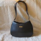 Liz Claiborne Black Purse With One Exterior Zipper Pocket And Three Inside