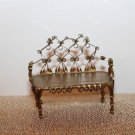 Vintage 1950's Tin Can Artist Made Setee Couch OAK Truly Exquisite Work of Art