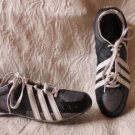 Men's Adidas Black & White Running Shoes With Spikes Size 11