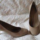 SUper SHARP BCBG Generation Beige Patent Leather Pumps  Shoes Size 10b
