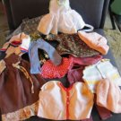 Large Lot of Vintage Doll Clothes Fashion and Baby Doll AS IS Bargain LOT