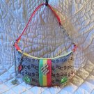 Super Cute Roca Wear Multi colored Fun Fabulous Purse Bag