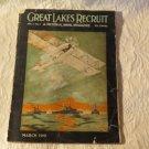 WW11 Periodical Ephemera Great Lakes Recruit Naval Magazine March 1919