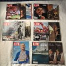 Vintage Lot of 16 Life Magazines From 1964 Some RARE Cool Ones