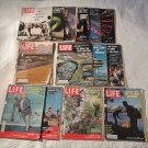Vintage Lot of 14 Life Magazines From the 1960's One '59 Some RARE Cool Ones