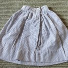 Super Cute Vintage Antique Polka Dot Doll Skirt Button Waist