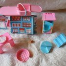 VINTAGE Lot Of 9 Barbie Doll Pet Shop Pieces PArts