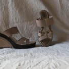 Hello Sexy Charles David Wedge Strappy Espedrille Sandals Size 9