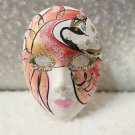 Vintage Pin Mask Brooch