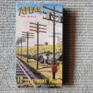 VINTAGe IN BOX ATlas Box of 12 Telephone Poles For Railroad Train Sets