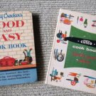 Lot of 2 vintage 1961 Cutco and Betty Crocker Good and Easy Cookbooks