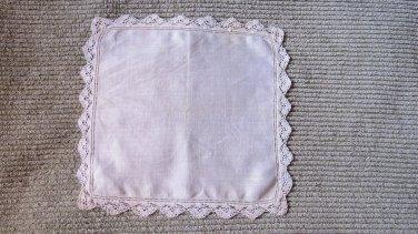 Vintage Wedding Handkerchief Hankie crocheted Lace