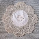 Museum Quality Vintage Super Intricate Handmade Lace Doily