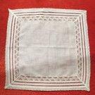 Incredible Detaile Wedding Lace Trimmed  True Vintage Handkerchief Hankie
