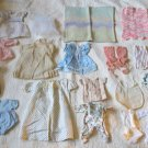 Lot Of 24 Super Cool Vintage Antique Doll Clothes And Accessories