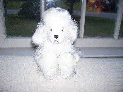 GANZ WEBKINZ White Poodle