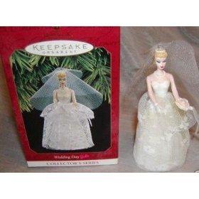 BRAND NEW IN BOX Barbie Wedding Day Hallmark Christmas Ornament