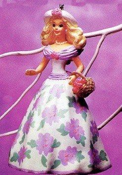 BRAND NEW IN BOX 1995 Sprintime Barbie Hallmark Ornament