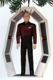 BRAND NEW IN BOX 1995 Star Trek: Captain Jean-Luc Picard Hallmark Ornaments