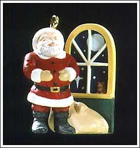 BRAND NEW IN BOX 1997 Jolly Old Santa Miniture Hallmark Keepsake Ornament