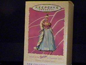 BRAND NEW IN BOX 1997 Barbie Rapunzel Springtime Hallmark Ornament