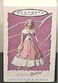 BRAND NEW IN BOX 1997 Springtime Barbie #3 Hallmark Ornament