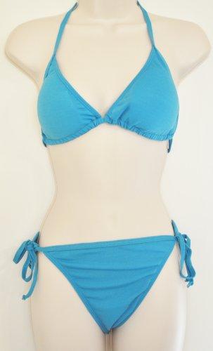 Aqua Blue Bobbie Brooks Bikini. Size XL