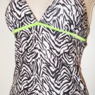 Black and White Bobbie Brooks Tanki Set. Size XL