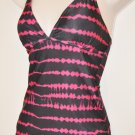 Black and Pink Bobbie Brooks Tanki Set. Size M